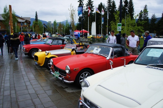 all british whistler car show