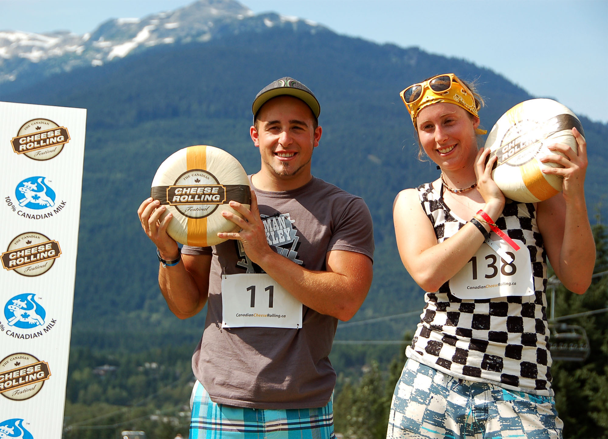 cheese rolling whistler