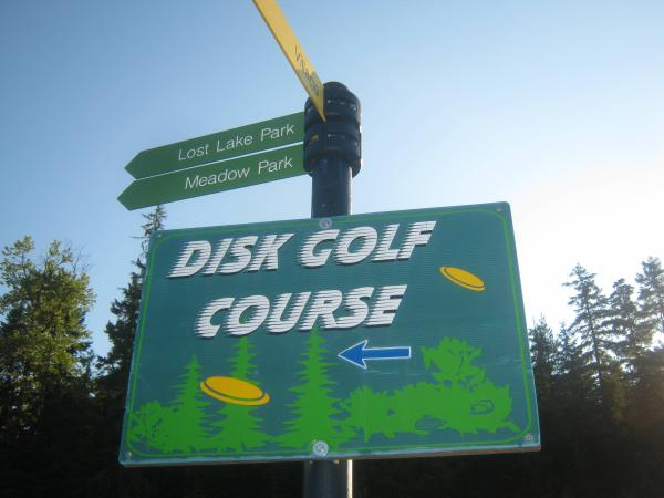 disc golf in whistler