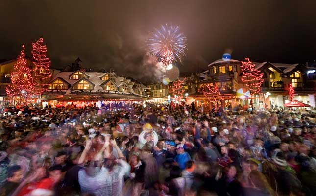 whistler new year