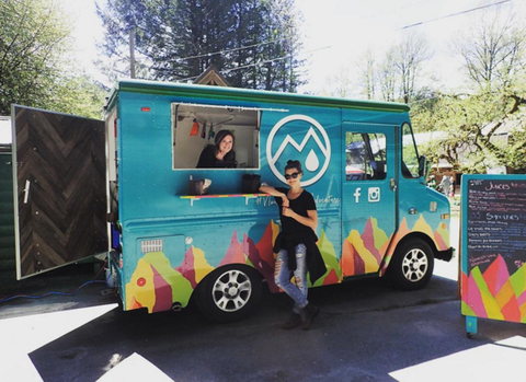 Mountain Squeeze - Food Truck Whistler