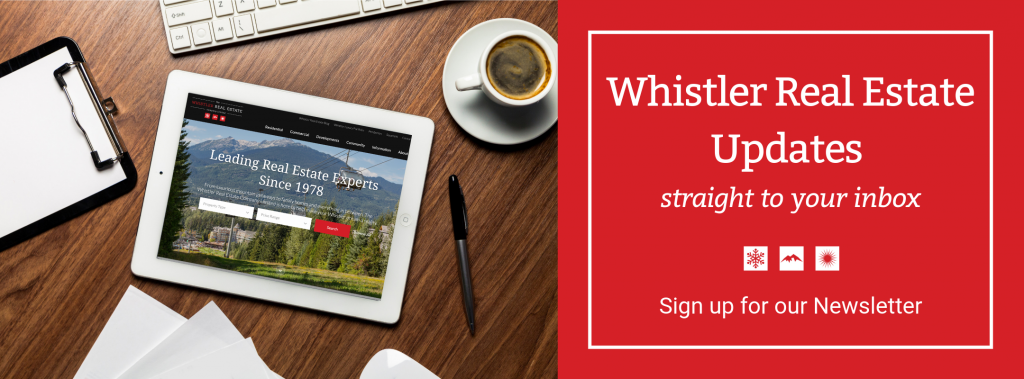 Whistler Real Estate Newsletter Signup