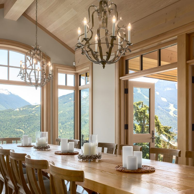 Whistler Home Series: Dining Rooms
