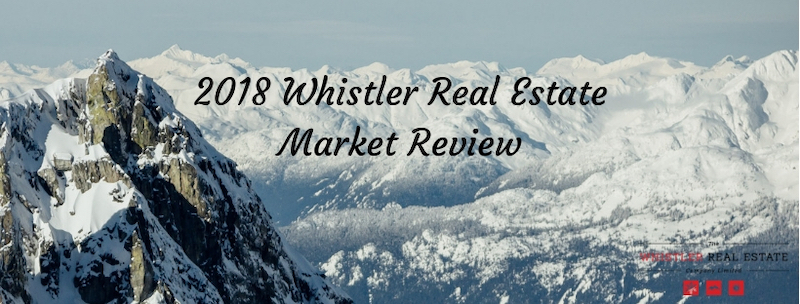 2018 Whistler Real Estate Market Review