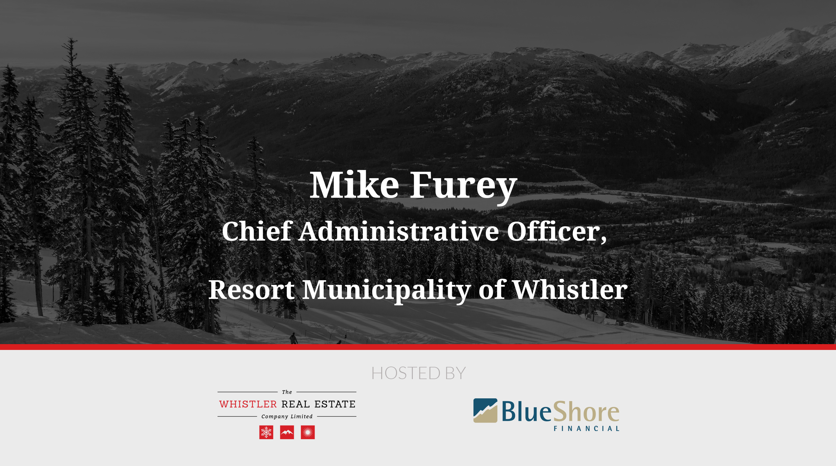 Mike Furey, Resort Municipality of Whistler