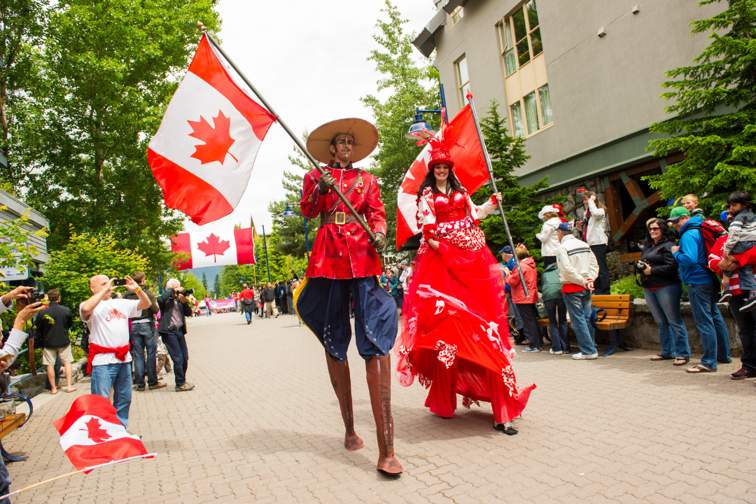 Canada Day in Whistler